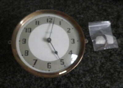 Antique Vintage Art Deco Smiths Clock 30 Hour Wind Up Spares And Repair - Metal