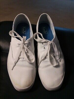 d17630c22b8de Keds Champion White Sneakers tennis shoes Size 10 gently used lace up  oxfords
