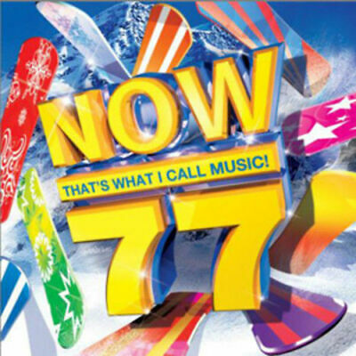 Various Artists : Now That's What I Call Music! 77 CD (2010) - Very Good