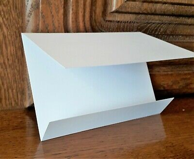 90 x White Wallet /  Pocketfold Card Blanks with Envelopes ~ Wedding Invitations