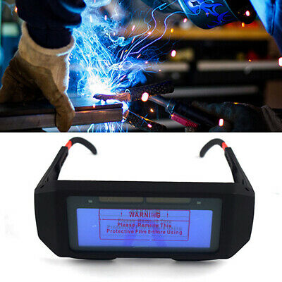 Safety Glasses Photoelectric Welding Automatic Eyes Goggles Anti-Glare Helmet