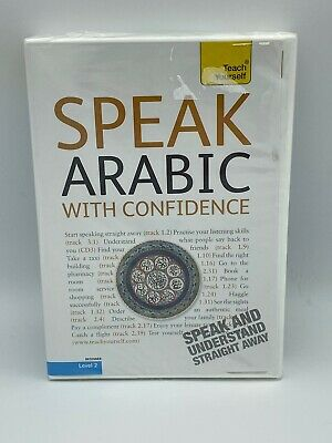 Speak Arabic with Confidence Level 2 3 Audio CDs A Teach Yourself Guide NEW