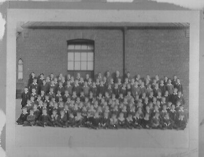 Antique Photograph school photograph - early 20th century