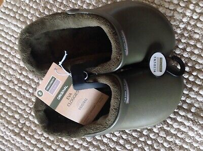 Fleece Lined Unisex Genuine Town&Country Garden Cloggs  Cheapest On Ebay!