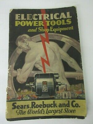 1932 Sears Roebuck & Co Tool Catalog Advertising Collectible   M-647