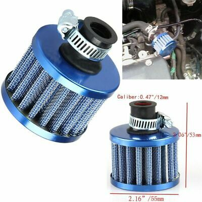 12MM CAR AUTO Motor Cold Air Intake Filter Kit Vent