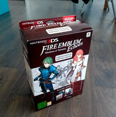 Nintendo 3Ds Fire Emblem Echoes Limited Only Box + Extras