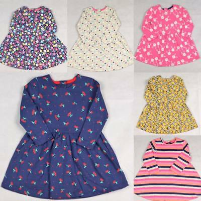 BNWT Mothercare Cute Baby Girls Long Sleeve Dress Tunic Age 6 Months To 5 Years