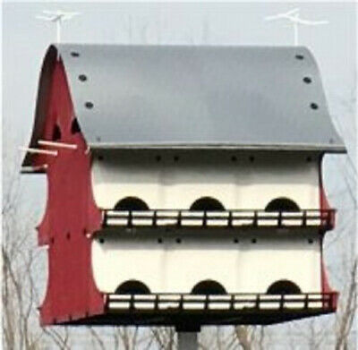 Large Bird House 16 Family Purple Martin Barn