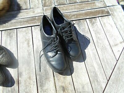 53ee07b2cbdb21 Superbes Chaussures Cuir Noires Femme Mephisto T 40 Comme Neuves A 40€ Ach  Imm F