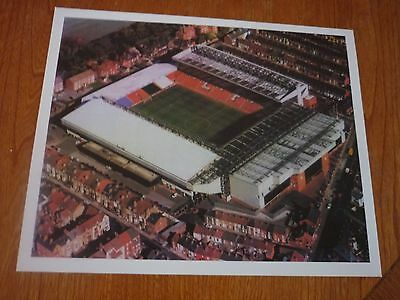 Liverpool football club Anfield stadium print 90's - would look great framed!