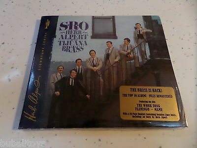 Herb Alpert & The Tijuana Brass - S.R.O 12 Track 2005 Signature UK CD RARE!
