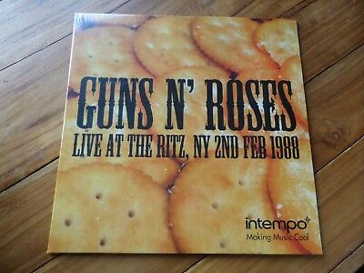 Guns N' Roses - Live Ritz, NY 02 Feb '88 Vinyl LP 2017 Record Intempo NEW Sealed