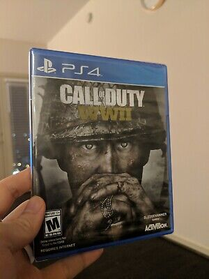 Call of Duty: WWII (Sony PlayStation 4, 2017) New Sealed. Unopened.