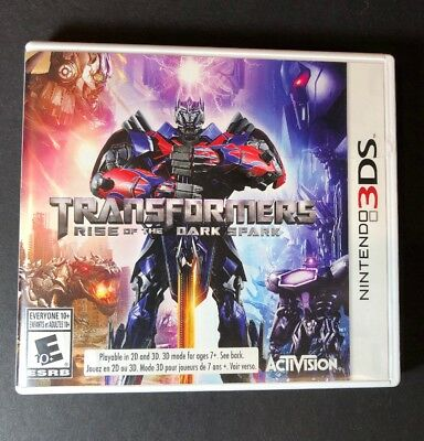 Transformers [ Rise of the Dark Spark ] (3DS) USED