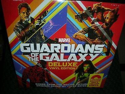 Guardians of the Galaxy *Soundtrack **NEW RED YELLOW COLORED RECORD LP VINYL
