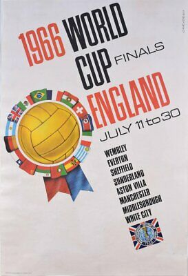 A3/A4 Size - World Cup England 1966 Final July 11 to 30 Art old Posters