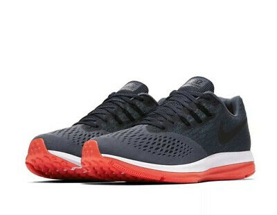39e37e1ba9d58 Nike Zoom Winflo 4 Running Shoes Mens UK 8 EUR 42.5 Marine Coral 898466-416