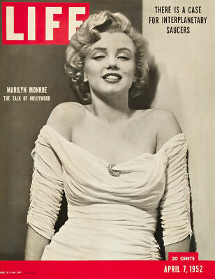 A3/A4 Size - MARILYN MONROE 1952 Life Magazine Cover Art old Vintage Posters