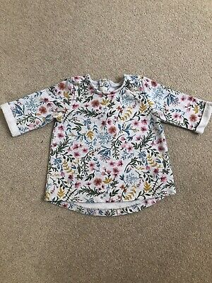 Mamas And Papas Baby Girl Floral Jumper 9-12 Months