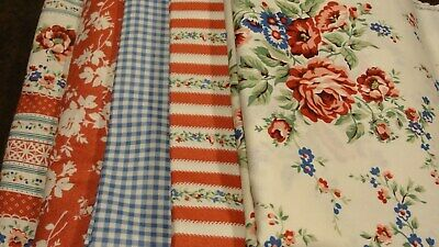 COTTAGE ROMANCE Fabric Collection 41 Yards Willowberry Lane Maywood With Book