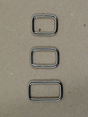"""Keepers - Nickel Plated - 1/2"""", 5/8"""", 3/4"""" x 3/8"""" tall - Pack of 100 (F458)"""