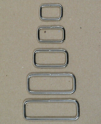 """Keepers - Nickel Plated - 5/8""""-1 3/4"""" x 1/2"""" tall - Pack of 100 (F462)"""