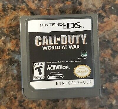 Call of Duty: World at War (Nintendo DS, 2008) Cartridge Only