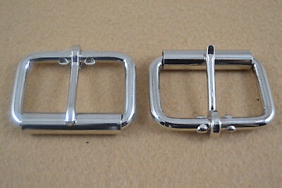 """Roller Buckle - 1 3/4"""" - Nickle Plated - Pack of 24 (F395)"""