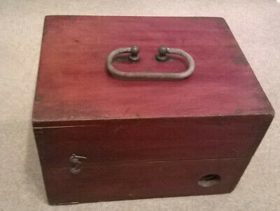 antique medical electric shock machine schall & son london in mahogany case