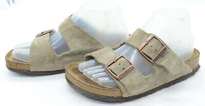 BIRKENSTOCK ARIZONA BLACK Leather Soft Foot Bed Slide
