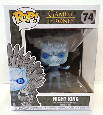 Game Of Thrones: Night King POP! Figure #74 (2019) Funko New