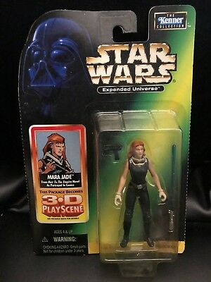 STAR WARS POTF SERIES EXPANDED UNIVERSE EU HEIR TO THE EMPIRE MARA JADE   FIGURE Zabawki Figurki akcji i z filmów