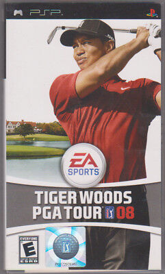 Tiger Woods PGA Tour 08 (Sony PSP, 2007) ~ Used Complete ~
