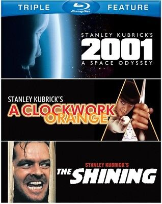 2001: A Space Odyssey/A Clockwork Orange/The Shining (Blu-ray Used Like New)