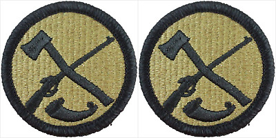 2 Pack U.S. Army West Virginia National Guard OCP Hook Military Patches