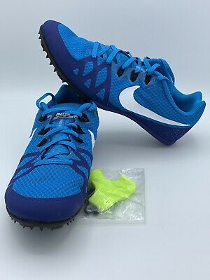 3de66c93d0b Nike Zoom Rival M 8 Men s Blue Track Sprint Spikes Shoes 806555-414 Size 8