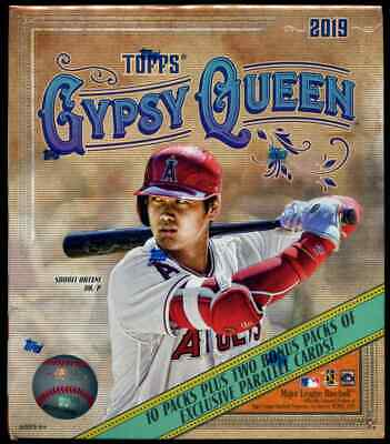 2019 Topps Gypsy Queen Monster Box Lot of 3 Factory Sealed Boxes Fast Ship
