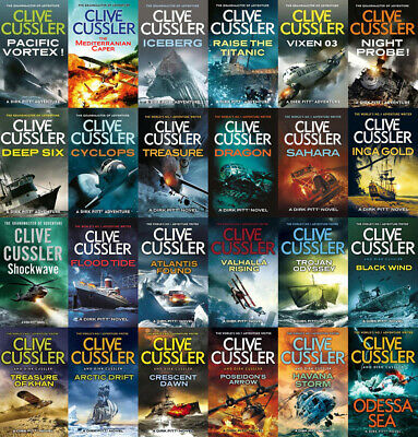 The Complete DIRK PITT Series By Clive Cussler (25 MP3 Audiobook Collection)