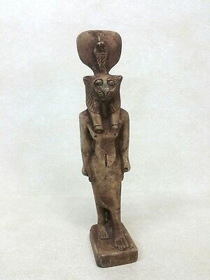 Egyptian Carved Standing Statue Figure
