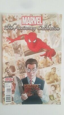 Marvels 75Th Anniversary Celebrations - Stan Lee's Final Publication