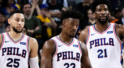 76ers Sixers v NETS PAIR ON AISLE (1 & 2) IN LOWER LEVEL TO 3d home game 4/23/19