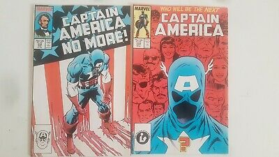 Captain America # 332 & 333 - Marvel Comics