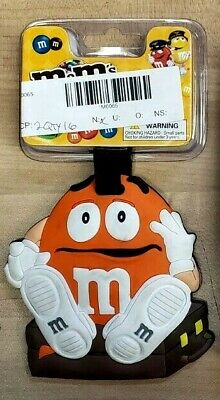 8ebc7ca67034 3 NEW M & M's Jumbo Luggage Tags Green Yellow Red Characters ...