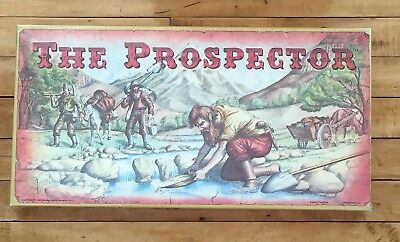 Vintage 1980 The Prospector Board Game McJay Never Opened Gold Mining