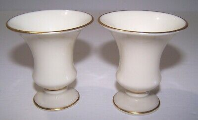 Pair of Vintage Lenox Candle Holders (Free Shipping)