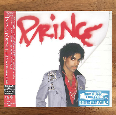 "Japan Only Bonus Track - Cd With Obi Sent From Berlin! Prince ""Originals"" 2019"