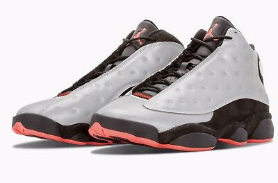 new product 86440 9a41d Ds Mens Nike Air Jordan Xiii 13 Retro Prm 3 M Reflect Infrared 696298 023 Sz