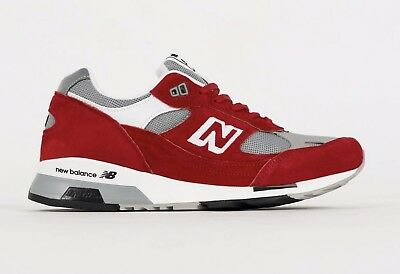 best service 4a0a2 b1f9d Ds Nib Mens New Balance 991.5 M991.5Aa Made In England Sz 10 Red Grey