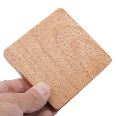 Multi Shape Wooden Tea Cup Mat Heat Insulation Pad Coffee Placemat MN